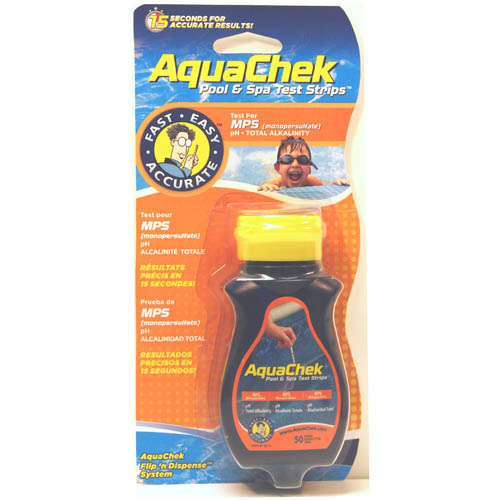 Water Testing, Test Strips, Aquacheck, Test Strips, MPS, 50 Per Bottle