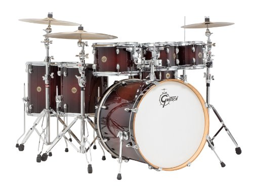 Gretsch Catalina Maple 6 Piece Deep Cherry Burst Drum Set