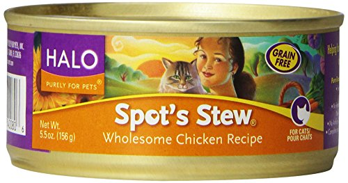 Cat Food - Spots Stew - Wholesome Chicken ( 12 - 5.5 OZ )