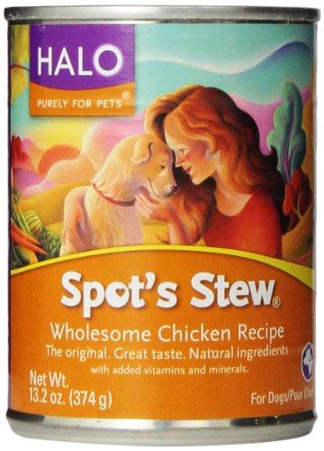 Halo Adult Dog Chicken Spots Stew - Wholesome Chicken ( 12 - 13.2 OZ )
