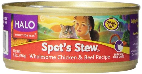 Spots Stew - Cat - Beef And Chicken - Can ( 12 - 5.5 OZ )