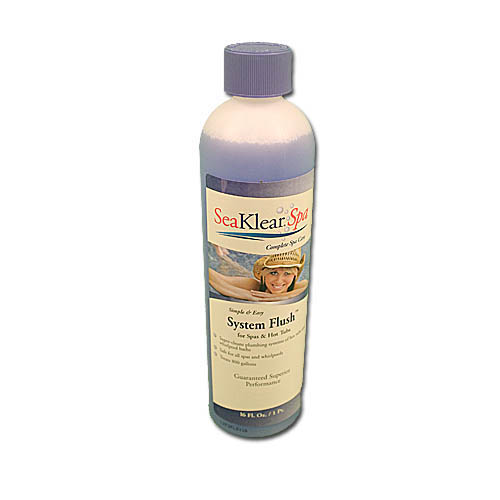 Chemical Flush, Seaklear, Spa Systems Flush, 16oz Bottle