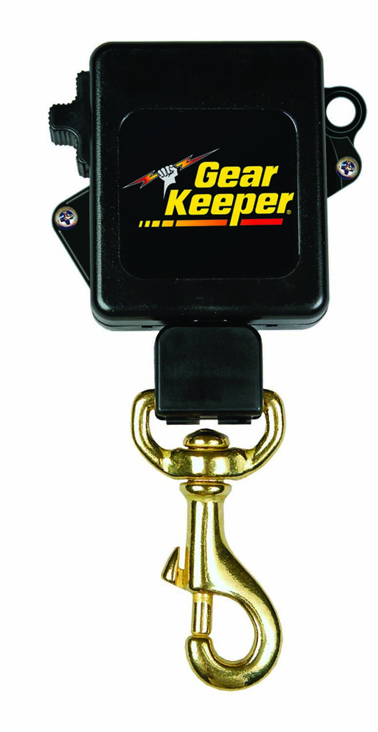 SECURITY KEY RETRACTOR CLAMP ON BELT ITEM#RT3-5826