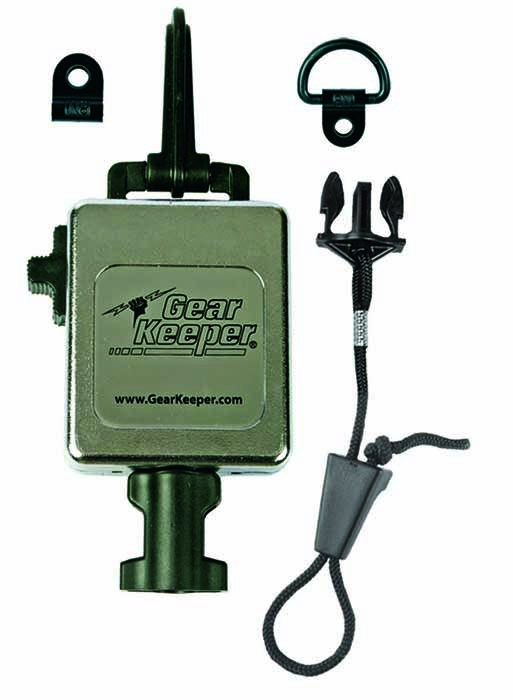 RETRACTABLE HEAVY DUTY CHROME MIC KEEPER #RT3-4712