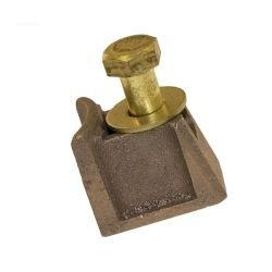 Deck Anchor Wedge, Hayward, for SP1392 Anchor, w/Bolt & Washer, Brass