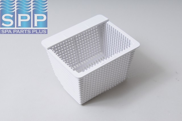 "Basket, Skim Filter, Hayward, SP-1099 Front Access Skimmer, 5-3/16""Long x 4-1/2""Wide x 3-1/2""High, White"