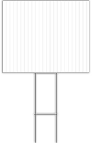 CORRUGATED BLANK-14X18 (14 in. x 18 in. Corrugated Plastic Blank Sign)