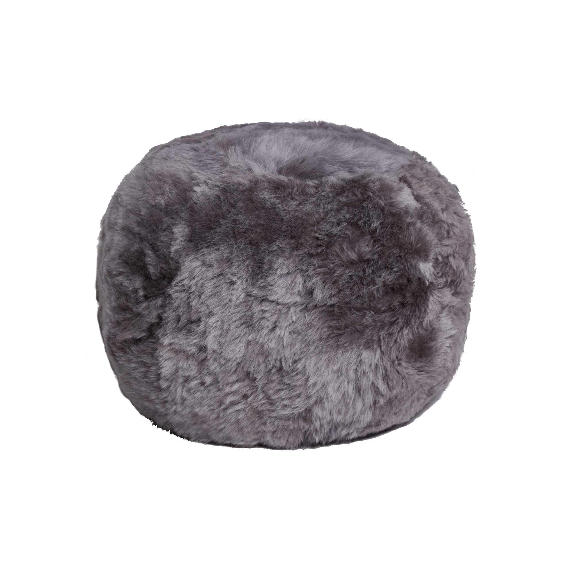 """14"""" x 14"""" x 11"""" Brisa Short-Hair Sheepskin - Floor Cushion"""