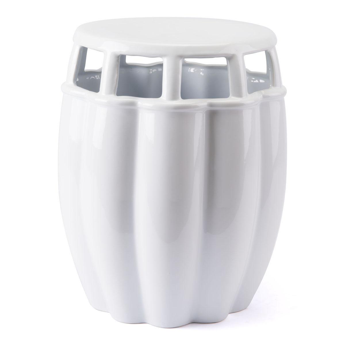 "14.4"" x 14.4"" x 17.1"" White, Ceramic, Seat"