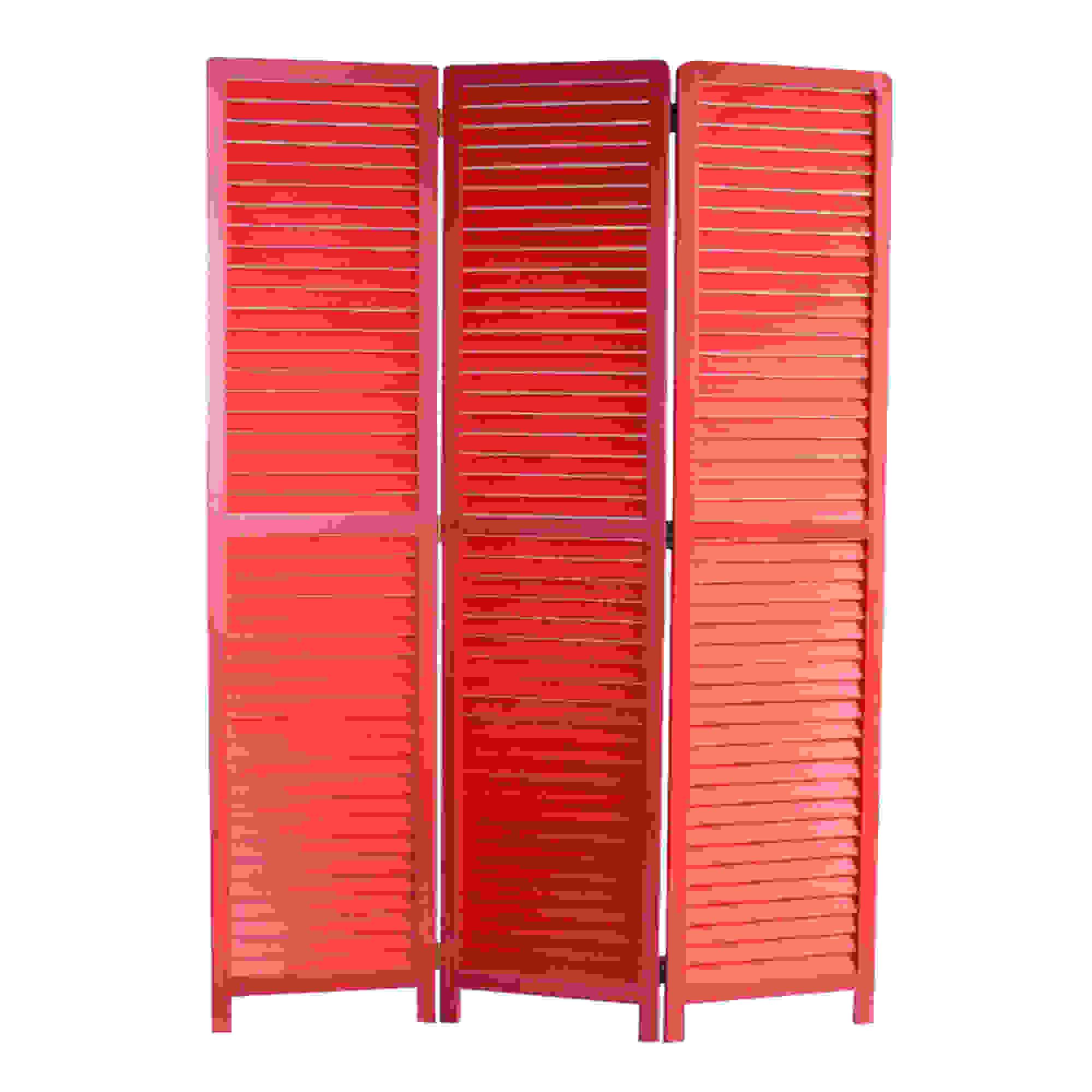 "1"" x 47"" x 67"" Red Wood  Screen"