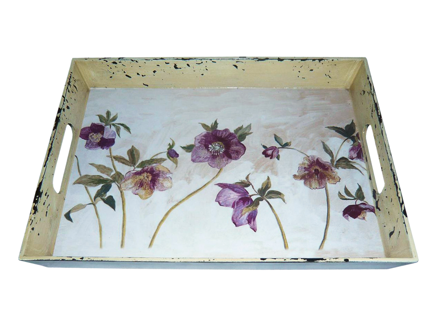 """1"""" x 11"""" x 8"""" Multi Color Metal  Inspiration Tray"""