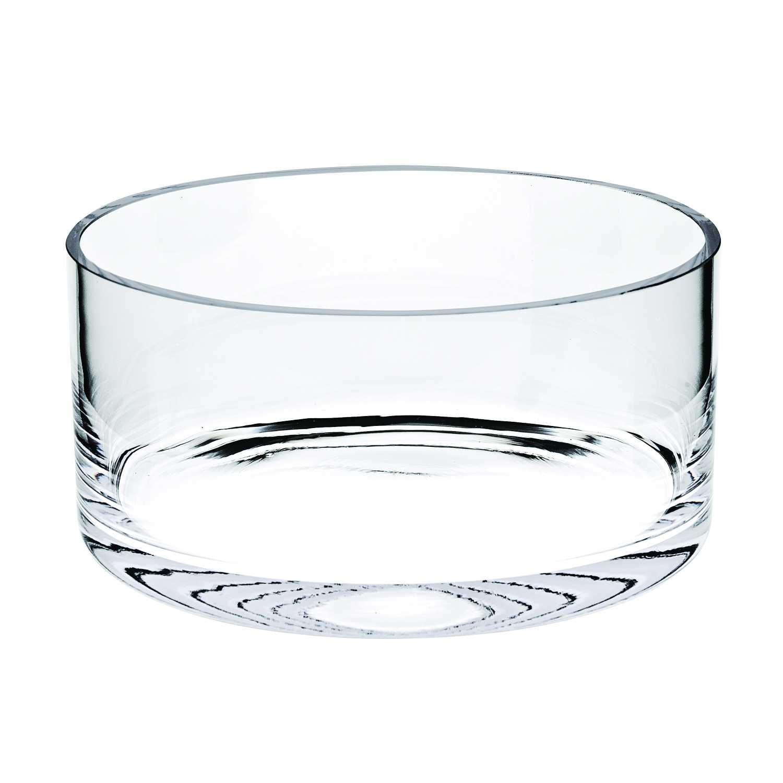 "10"" Mouth Blown Crystal European Made Crystal Bowl"