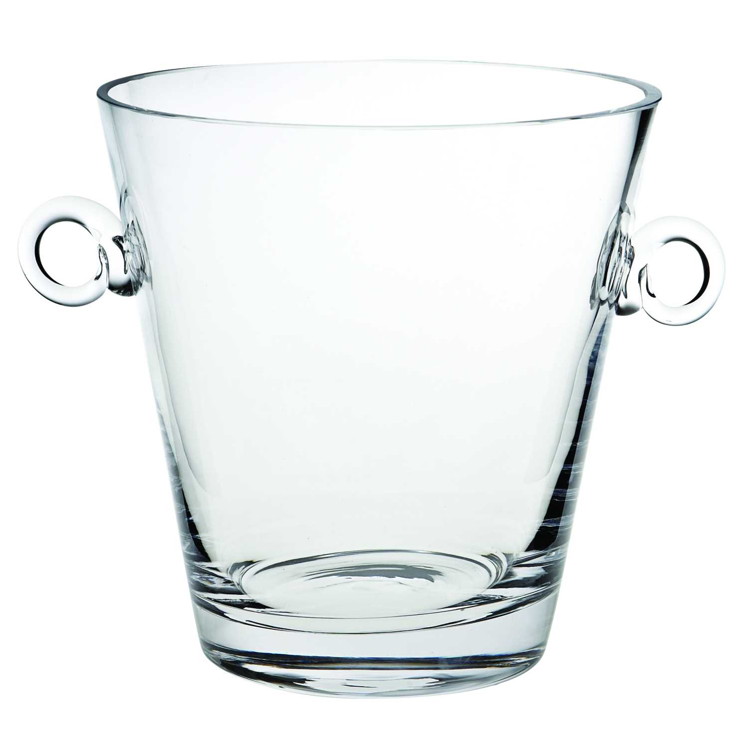 """8"""" Mouth Blown European Glass Ice Bucket or Cooler"""