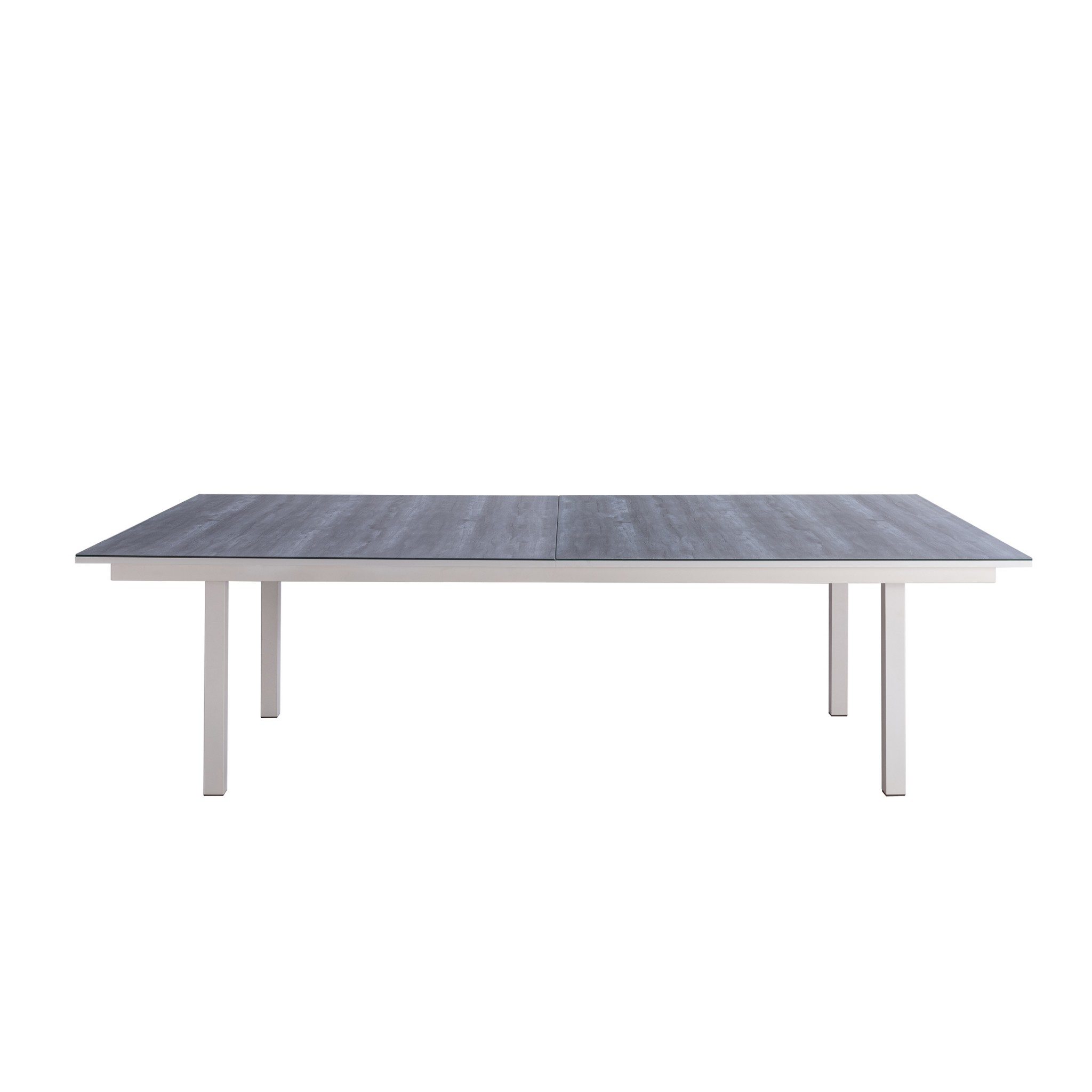 """108"""" X 60"""" X 30"""" Light Gray Ceramic Dining and Table Tennis"""