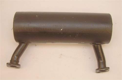 Honda Engine Parts Left-Side Exhaust Muffler for GX630 GX660  GX690 Series Honda Twin Engine