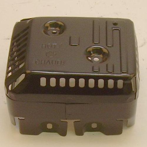 18320-ZF1-H51 PROTECTOR, MUFFLER (Honda Code 4640850), fits some GX120, GX160, GX200 ; SS ; 18320-ZF1-H52 Honda Engine Parts