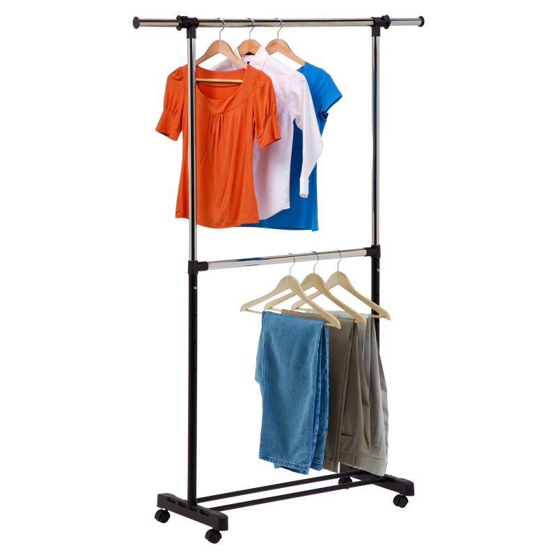 Double Bar Garment Rack Expand