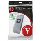 H Type Y Allergen Bag - 3 pack