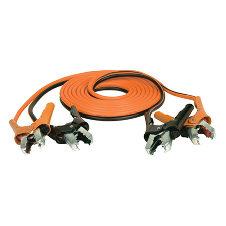 12FT 8GAUGE SET W/ BAG AND CINCH CLAMPS JUMPER CABLES