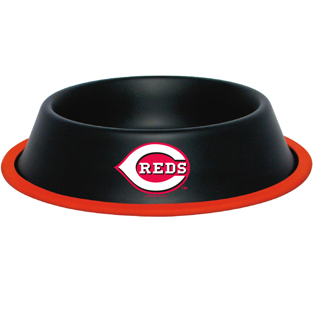 10 x 2 CINCINNATI REDS-PET BOWL DESG