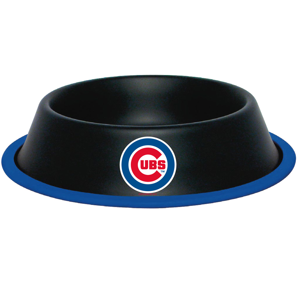 10 x 2 CHICAGO CUBS-PET BOWL DESG