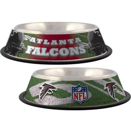 10 x 2 Atlanta Falcons-PET BOWL DESIGN