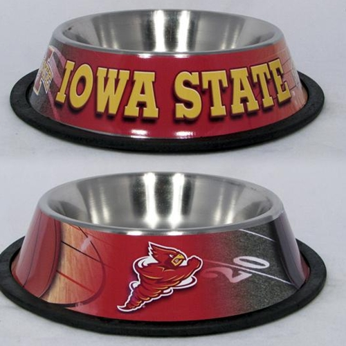 10 x 2 IOWA, UNIV -PET BOWL WRAP