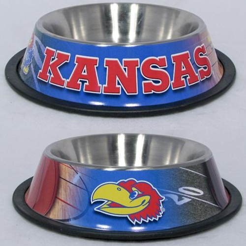 10 x 2 KANSAS, UNIV -PET BOWL WRAP