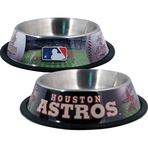 10 x 2 HOUSTON ASTROS-PET BOWL DESG