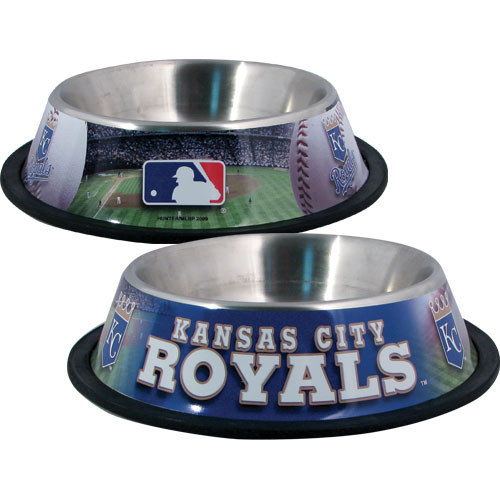 10 x 2 KAN CITY ROYALS-PET BOWL DESG