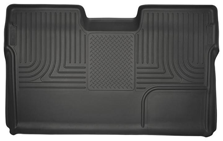 09-14 F150 CREW CAB CUSTOM MOLDED WEATHERBEATER 2ND SEAT FLOOR LINER BLACK