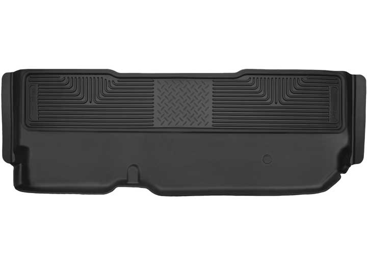 11-16 SUPER DUTY F250/F350 X-ACT CONTOUR SERIES 2ND SEAT FLOOR LINER (FULL COVERAGE) BLACK