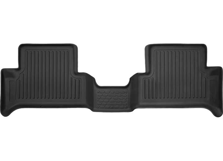 15-C CANYON/COLORADO EXTENDED CAB 2ND SEAT FLOOR LINER (FULL COVERAGE) X-ACT CONTOUR SERIES BLACK