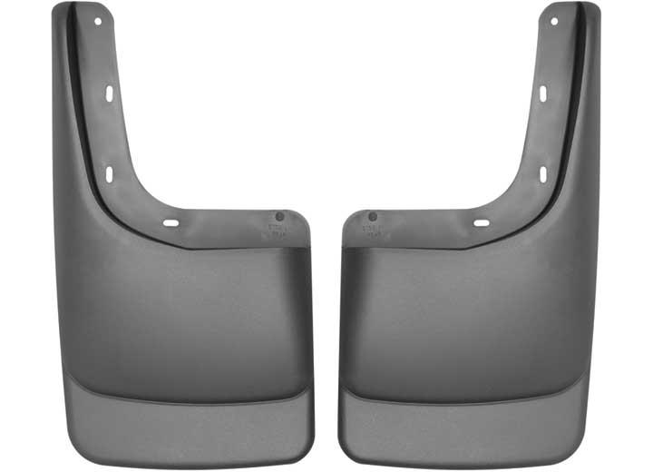 04-14 F150 W/FENDER FLARES REAR MUD GUARDS