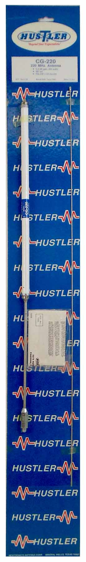 Mine the dcl hustler antenna