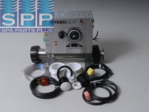 Control System, Air, HydroQuip CS7000, Pump1, Blower or P2 w/Cords & Timer
