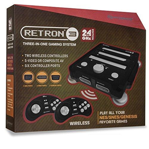 RetroN3 Hyperkin 3in1 Console Black