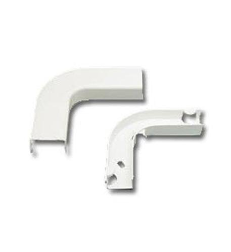 FLAT ELBOW AND BASE 1 3/4 WHITE 10PK