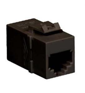 MODULE- COUPLER- RJ-11- PIN 1-1- BLACK