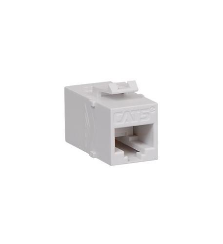 MODULE- COUPLER- CAT5e WHITE