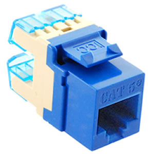 MODULE- CAT 5e- HD- BLUE