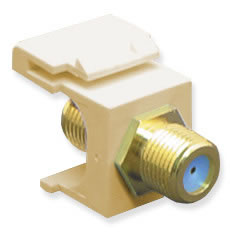 Module- F-Type -Gold Plated- 3GHZ- Ivory