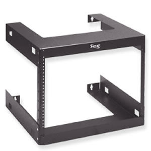 RACK- WALL MOUNT- 18in DEEP- 8 RMS