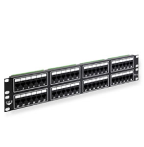PATCH PANEL- CAT 6- 48-PORT- 2 RMS