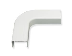 FLAT ELBOW- 1 1/4in- WHITE- 10PK