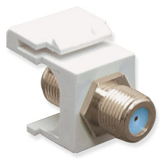 MODULE- F-TYPE- NICKEL PLATED- 3 GHZ- WH