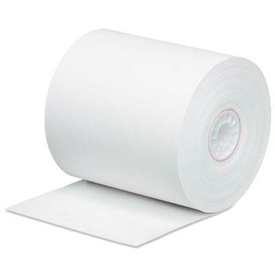 "Impact Bond Paper Rolls, 0.45"" Core, 3"" x 165 ft, White, 50/Carton"
