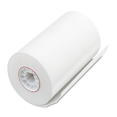 """Direct Thermal Printing Thermal Paper Rolls, 3.13"""" x 90 ft, White, 72/Carton"""