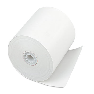 """Direct Thermal Printing Thermal Paper Rolls, 3"""" x 225 ft, White, 24/Carton"""