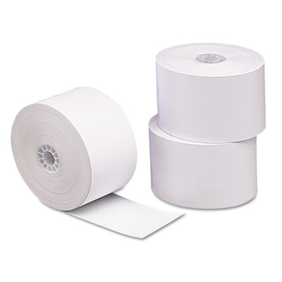 """Direct Thermal Printing Thermal Paper Rolls, 1.75"""" x 230 ft, White, 10/Pack"""